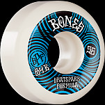 BONES WHEELS SPF Skateboard Wheels Ripples 56mm P5 Sidecut 84B 4pk White