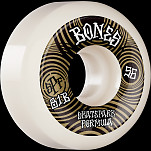 BONES WHEELS SPF Skateboard Wheels Ripples 56mm P5 Sidecut 81B 4pk White