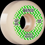 BONES WHEELS STF Skateboard Wheels Patterns 53 V5 Sidecut 99A 4pk