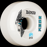 BONES WHEELS SPF Pro Hawk Bird's Eye Skateboard Wheels P5 Sidecut 60mm 84B 4pk White