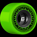 BONES WHEELS ATF Rough Rider Tank Skateboard Wheels 59mm 80a 4pk Green