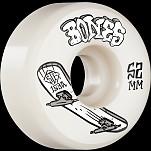 BONES WHEELS STF Skateboard Wheels Heritage Boneless 52mm V1 Standard 103A 4pk