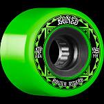 BONES WHEELS ATF Rough Rider Skateboard Wheels Runners 59mm 80a 4pk Green