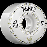 BONES WHEELS SPF Linears Skateboard Wheels 81B Fatties 56mm 4pk White
