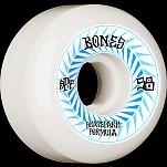 BONES WHEELS SPF Skateboard Wheels Spines 58mm P5 Sidecut 84B 4pk White