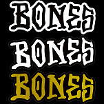 "BONES WHEELS 5"" Sticker (single)"