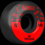 BONES WHEELS OG Formula Skateboard Wheels 100 #13 52mm V4 Wide 4pk Black