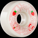 BONES WHEELS PRO SPF Skateboard Wheels Lizzie Armanto Spilt Milk 56 P6 Wide-Cuts 81B 4pk
