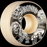 BONES WHEELS STF Night Watch Skateboard Wheels 54mm 99a Easy Streets V1 Standard 4pk White