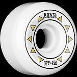 BONES WHEELS SPF Arrows Skateboard Wheels 81B Sidecuts 60mm 4pk White