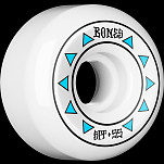 BONES WHEELS SPF Arrows Skateboard Wheels 84B Sidecuts 55mm 4pk White