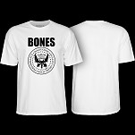 BONES WHEELS Joey T-shirt White