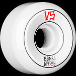 BONES WHEELS STF Annuals Skateboard Wheels Sidecuts 54mm 4pk White
