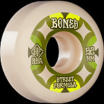 BONES WHEELS STF Skateboard Wheels Retros 52mm V5 Sidecut 99A 4pk