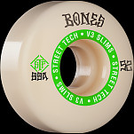 BONES WHEELS STF Skateboard Wheels Ninety-Nines 52mm V3 Slims 99a 4pk