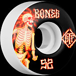 BONES WHEELS STF Blazer Skateboard Wheels V1 52mm 103A 4pk