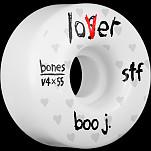 BONES WHEELS STF Pro Boo Johnson Lover Skateboard Wheels V4 Wide 55mm 34mm 4pk
