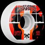 BONES WHEELS STF Pro Gravette Peeps Skateboard Wheels V2 53mm 103A 4pk