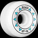 BONES WHEELS SPF Arrows Skateboard Wheels 84B Sidecuts 60mm 4pk White