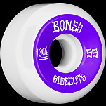 BONES WHEELS 100 #2 V5 Skateboard Wheel 55mm 4pk White V5 Sidecut