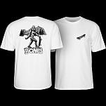 BONES WHEELS Heritage Big B T-Shirt White