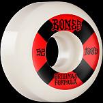 BONES WHEELS OG Formula Skateboard Wheels 100 #4 52mm V5 Sidecut 4pk White