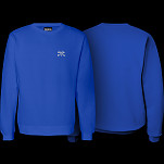 BONES WHEELS Jim Crew Sweatshirt Royal Blue