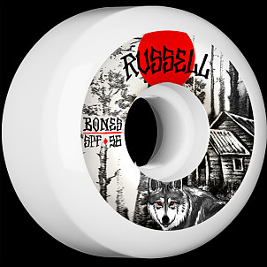 BONES WHEELS SPF Pro Russell Cabin Skateboard Wheel P5 56mm 104A 4pk