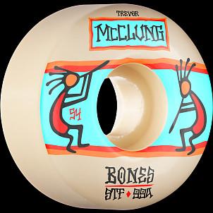 BONES WHEELS PRO STF Skateboard Wheels Trevor McClung Ritual 54mm V1 Standard 99A 4pk