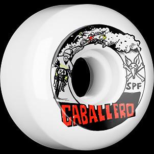 BONES WHEELS SPF Pro Caballero X Blender Moto Skateboard Wheel P5 54x31 4pk
