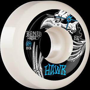 BONES WHEELS PRO SPF Skateboard Wheels Hawk Tattoo 60mm P5 Sidecut 84B 4pk