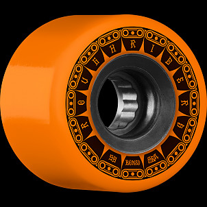 BONES WHEELS ATF Rough Rider Tank Skateboard Wheel 59mm 80a 4pk Orange