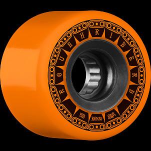 BONES WHEELS ATF Tank Skateboard Wheel 59mm 80a 4pk Orange