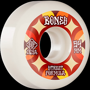 BONES WHEELS STF Skateboard Wheels Retros 54mm V5 Sidecut 103A 4pk