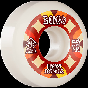 BONES WHEELS STF Skateboard Wheels Retros 55 V5 Sidecut 103A 4pk