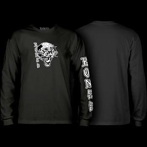 BONES WHEELS Night Prowler Longsleeve T-shirt - Black
