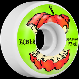 BONES WHEELS STF Pro Appleyard Apple Skateboard Wheels 51mm 4pk