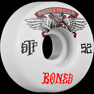 BONES STF Pro Mullen Winged Mutt 52x31 V1 Skateboard Wheel 83B 4pk