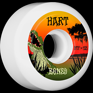 BONES WHEELS STF Pro Hart Gator Bait Skateboard Wheels V5 53mm 103A 4pk