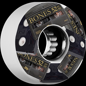 BONES WHEELS ATF Mini DV's Skateboard Wheels 52mm 80A 4pk
