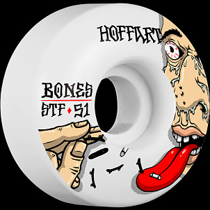 BONES WHEELS STF Pro Hoffart Addicted Skateboard Wheels Locks 51mm 4pk