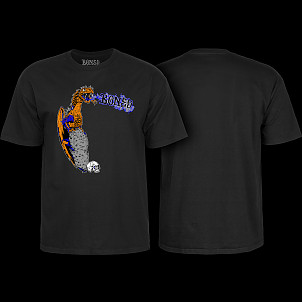 BONES WHEELS Cody Lockwood Dragon T-shirt Black