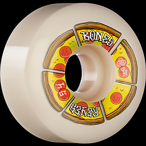 BONES WHEELS PRO STF Skateboard Wheels Reyes Pipin Hot 54mm V6 Wide-Cut 99a 4pk