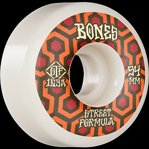 BONES WHEELS STF Skateboard Wheels Retros 54 V1 Standard 103A 4pk