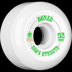 BONES WHEELS STF Easy Streets Skateboard Wheels V5 53mm 99a 4pk