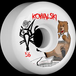BONES SPF Pro Kowalski Bear 56x32 P5 Skateboard Wheel 4pk