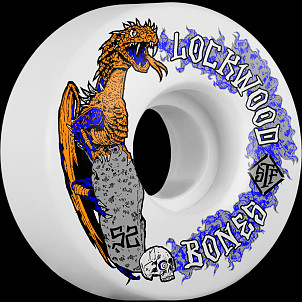 BONES WHEELS STF Cody Lockwood Dragon Skateboard Wheels V3 52mm 103A 4pk