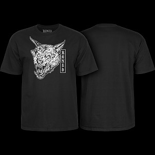 Bones Wheels Time Beasts Werewolf T-shirt Black