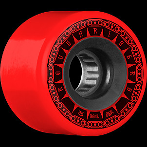 BONES WHEELS ATF Rough Rider Tank Skateboard Wheel 56mm 80a 4pk Red