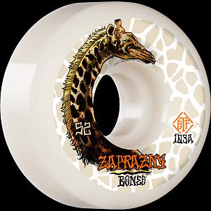 BONES WHEELS PRO STF Skateboard Wheels Zaprazny Giraffe II 52mm V5 Sidecut 103a 4pk